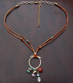 Gr8 idea (mixing common metals u can find in the hardware store)  MizMarLodesigns, etsy, sold