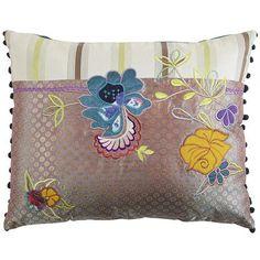 Floral Stripe Pillow, Pier 1