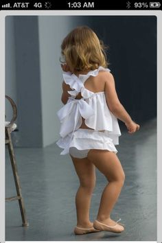 Ruffles and ballet shoes.. Some of my favorite things!