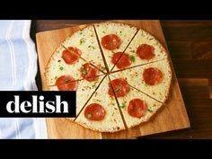 Best Crustless Pepperoni Pizza Recipe - How to Make Crustless Pepperoni Pizza