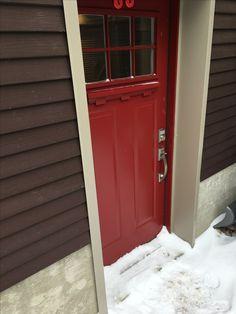 Victorian Shaker Door w/ Decorative Shelf Entry Doors, Garage Doors, Decorative Shelf, Shaker Doors, Victorian, Shelves, Outdoor Decor, Home Decor, Front Doors