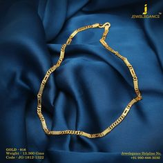 Gold Chain Men Fashion Blow your Golden Glow. Get In Touch With us on 919904443030 Mens Gold Chain Necklace, Mens Gold Bracelets, Mens Gold Jewelry, Gold Rings Jewelry, Gold Necklaces, Men's Jewelry, Charm Bracelets, Diamond Jewelry, Gold Chain Design