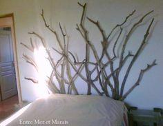 Tête de lit bois flotté 2