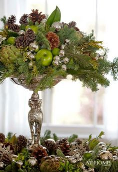 elegant Christmas | Elegant Christmas Centerpiece Trends for 2012 - منتدى فتكات