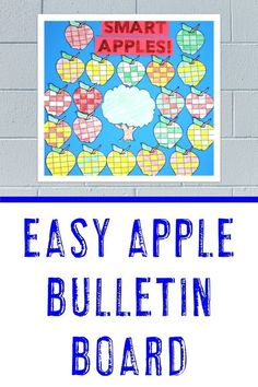 On the lookout for an apple bulletin board idea? Teachers are going to love this apple bulletin board or hallway display idea! Click through to see how you can use this for back to school or a fall classroom door decor idea. #BackToSchoolBulletinBoard #FallBulletinBoard #AppleBulletinBoard Fall Classroom Door, 5th Grade Classroom, Middle School Classroom, Classroom Decor, Apple Activities, Activities For Kids, Hallway Displays, Back To School Bulletin Boards, Halloween Math