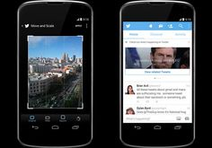 Twitter's Android application now boasts of some more photo editing features.