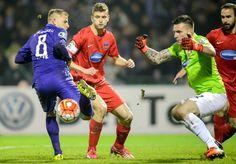 DFB Pokal Achtelfinale: Aue - Heidenheim 0:1 - Die Wechsel, die Heidenheims Trainer Frank Schmidt zur Pause vornahm, zeigten...