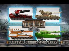 Tank Race: WW2 Shooting Game android game first look gameplay español