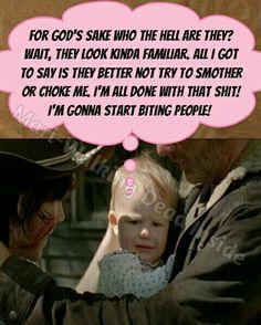 The Walking Dead, Memes, Judith Grimes, Rick Grimes, Carl Grimes