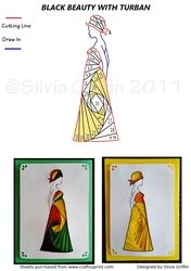 Lady with Turban IF on Craftsuprint - View Now!