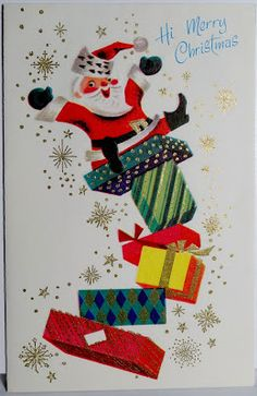 Pop Culture Safari!: Merry mid-century Christmas: Holiday cards from the Madmen era