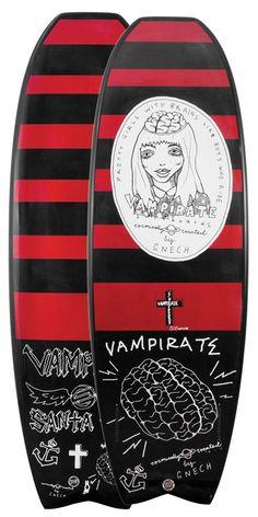 Vampirate Surfboard By Santa Cruz