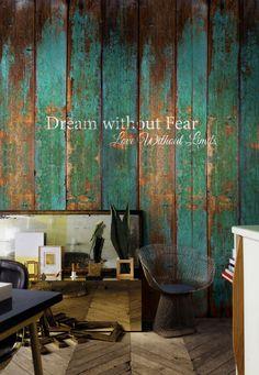 Fotobehang DREAM WITHOUT FEAR - Windmill Avenue 6332016 Verkrijgbaar bij www.verfenbehangloods.nl