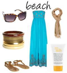 Beachwear.  This looks like a style that would suit the laid back atmosphere around the pool at the Hilton Hotel on Pensacola Beach Florida.