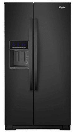 Black Counter-Depth Side-by-Side Refrigerator