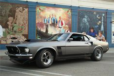 1969 FORD MUSTANG. Check out Facebook and Instagram: @metalroadstudio Very cool!