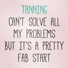 Start problem solving - get a spray tan. 509-961-6555 www.bareblissyakima.com #spraytan #norvell