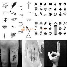 Small Tattoos for Girls. Cute Small Tattoos #TattooIdeasSmall