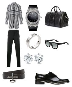 """""""Untitled #191"""" by jtodd1901 on Polyvore featuring Givenchy, Audemars Piguet, Cartier, men's fashion and menswear"""