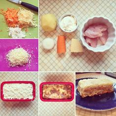 Запеканка по мотивам Мяса по-французски 😻😻😻 ✳️филе индейки 100гр ✳️картофель 100гр ✳️сыр 30гр ✳️морковь 30гр ✳️лук 20гр ✳️сметана 2ст.л. ✳️соль Фиде индейки мелко режем. Овощи чистим и трём на тёрке (можно просто мелко порезать). Выкладываем в форму слоями. Сначала по половине индейкиу, потом картофель, лук, морковь (немного присаливая), снова индейка, картофель, лук, морковь. Сметану смешиваем с тёртым на мелкой тёрке сыром, и выкладываем в форму поверх овощей. Запекаем в разогретой до…