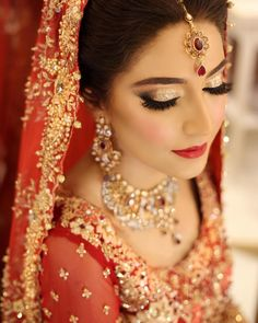 """Back after Ramadan with a bang at the salon dolling up our brides and whipping up some amazing makeup editorials❤️ this striking beauty Amber who came to us for both her Baaraat and Valima had to say about her experience """" Truly feel like a princess out of a fairytale. Could not be any happier. Love love love it. Thank you Hina & Natasha❤thank you for letting us be a part of your big day️ can't wait to share all that we have in store for you ❤ Kindly contact us on these numbers 0340-551..."""