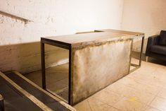 Modern industrial desk for London Alley Entertainment
