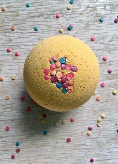 Bath Bomb-Birthday Cake Scented by GypsyFaeCreations on Etsy https://www.etsy.com/listing/294505429/bath-bomb-birthday-cake-scented