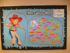 """Career Counseling - """"Lasso A Great Career"""" Bulletin Board"""