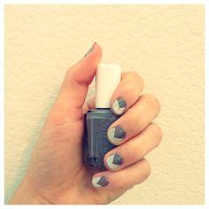Easy Geometric Nail Art | Mint Sprinkles