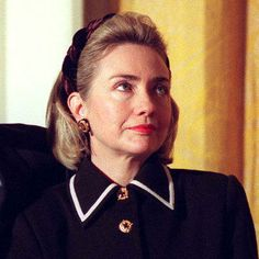Hillary Rodham Clinton 1997 FLOTUS  They always tried to diminish her by focusing on her hairdo, idiots