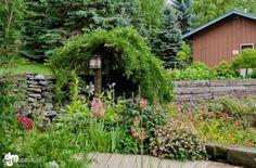 Beautiful landscaping nurtured by a master gardener!