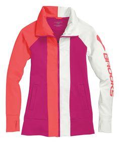 Take a look at the Fuchsia & Poppy Glycerin Jacket on #zulily today!