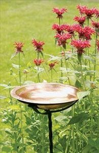 Achla Designs Hammered Copper Bowl with Rim