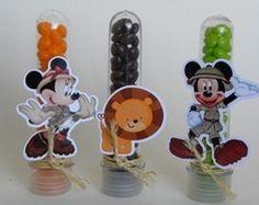 Leve-os juntos com frete grátis. + +. 30 Copos Long Drink Mickey Safari  Aniversário ...