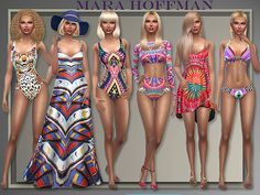 Patio Wear Spring Summer 2015 at All About Style • Sims 4 Updates