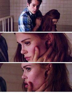 Dylan O'Brien (Stiles Stilinski) & Holland Roden (Lydia Martin) - Teen Wolf