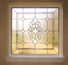 Ideas Bathroom Window Stained Glass Colour For 2019 Bathroom Windows, Glass Bathroom, Glass Kitchen, Bathroom Window Privacy, Custom Stained Glass, Stained Glass Designs, Stained Glass Patterns, Leaded Glass Windows, Casement Windows