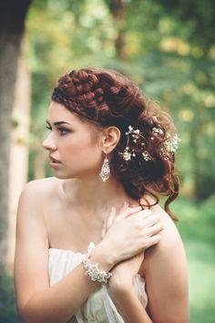 Bohemian Wedding Jewelry By Edera La Candella Weddings Jewellery Lace And