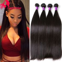 Hair Weaving Indian Virgin Hair Straight 4Bundles Rosa Hair Products Raw Indian Straight Virgin Hair 8A Virgin Human Hair Weave Bundles Deal *** AliExpress Affiliate's Pin. Find out more by clicking the VISIT button