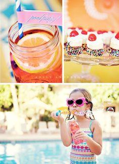 Beach Ball Bash - Bubbles - Punch - Treats