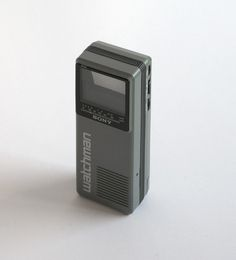 Sony Watchman TV FD-10A | Flickr - Photo Sharing!