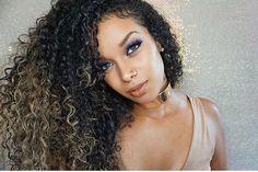 Not only is she a beautiful woman, but a beautiful soul! True definition of a Curlyhairkilla @kathxlynnn 💞✨