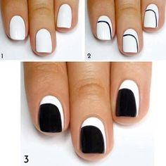diseño para uñas paso a paso sencillo