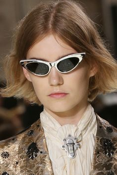 aae5e4fcb0f Sunglasses from the Louis Vuitton Spring-Summer 2018 Show by Nicolas  Ghesquiere. Watch the