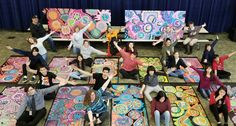 Check out this memorable school/community Circle Painting project at Standing Rock Middle School, North Dakota. When teachers learn along side with students, everybody wins.  To learn more, please visit https://www.facebook.com/circlepainting.org/