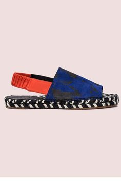 Walk Everywhere? You'll Love This Summer Shoe Trend #refinery29 http://www.refinery29.com/summer-espadrilles#slide-4 SandalsLeave it to Proenza to elevate a beachside basic to a work of art.