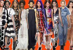 Moda: 10 tendenze primavera estate 2016 viste alle sfilate di New York, Londra, Milano e Parigi