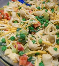 Super Simple Tortellini Salad