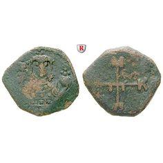 Byzanz, Manuel I. Comnenus, 1/2 Tetarteron 1143-1180, s-ss: Manuel I. Comnenus 1143-1180. Kupfer-1/2 Tetarteron 17 mm 1143-1180… #coins
