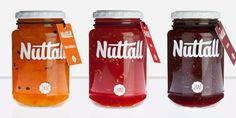 beautiful jam package design, if only the would have removed the seeds  -- Nutall Jam || Mark